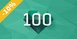 Kupón 100 kreditů