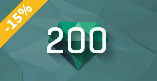 Kupón 200 kreditů